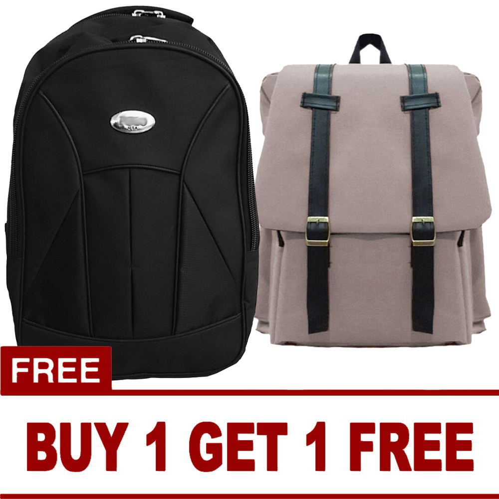 Buy 1 Get Free P Basic Black Laptop Backpack M2m Original Digital Bodyguard Dtbg Business Travel Bag Usb Port D8205w 156 Inch Tas Ransel Warna Acak Shopee Indonesia