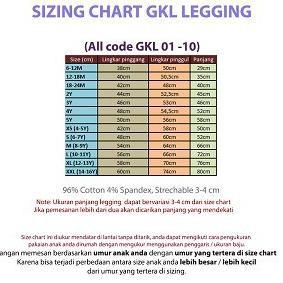 Kode 888 Gap Kids Legging Katun Gap Junior Size 4 14 Tahun Banyak Corak Dan Motif Shopee Indonesia