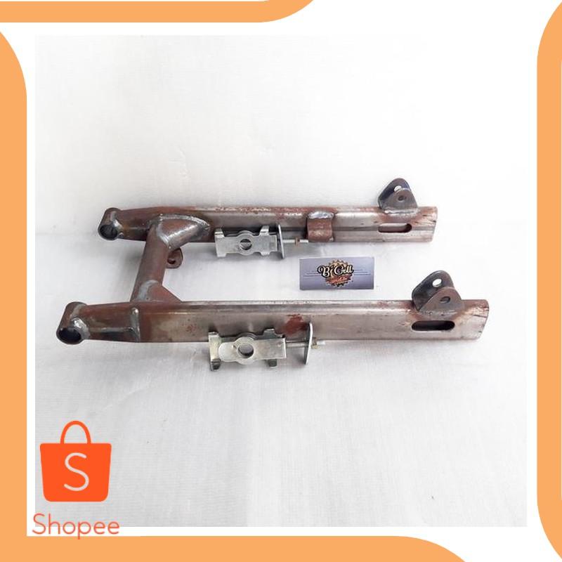 Unik parts swing arm C70 grand prima model pipa oval set dengan setelan r Limited