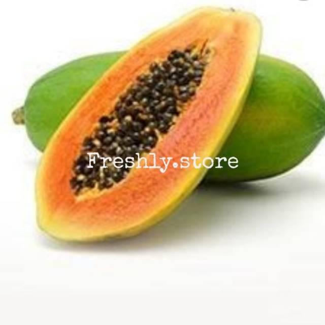 Pepaya California Papaya Buah Pepaya Shopee Indonesia