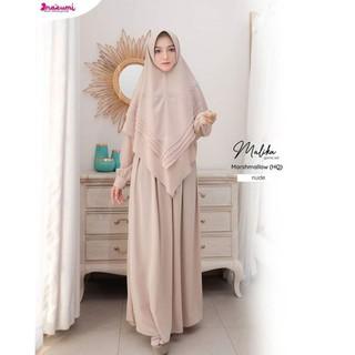 Malika By Nazumi Gamis Original Free Totebag Gamis Syar I Gamis Ori Gamis Branded Gamis Nazumi Shopee Indonesia