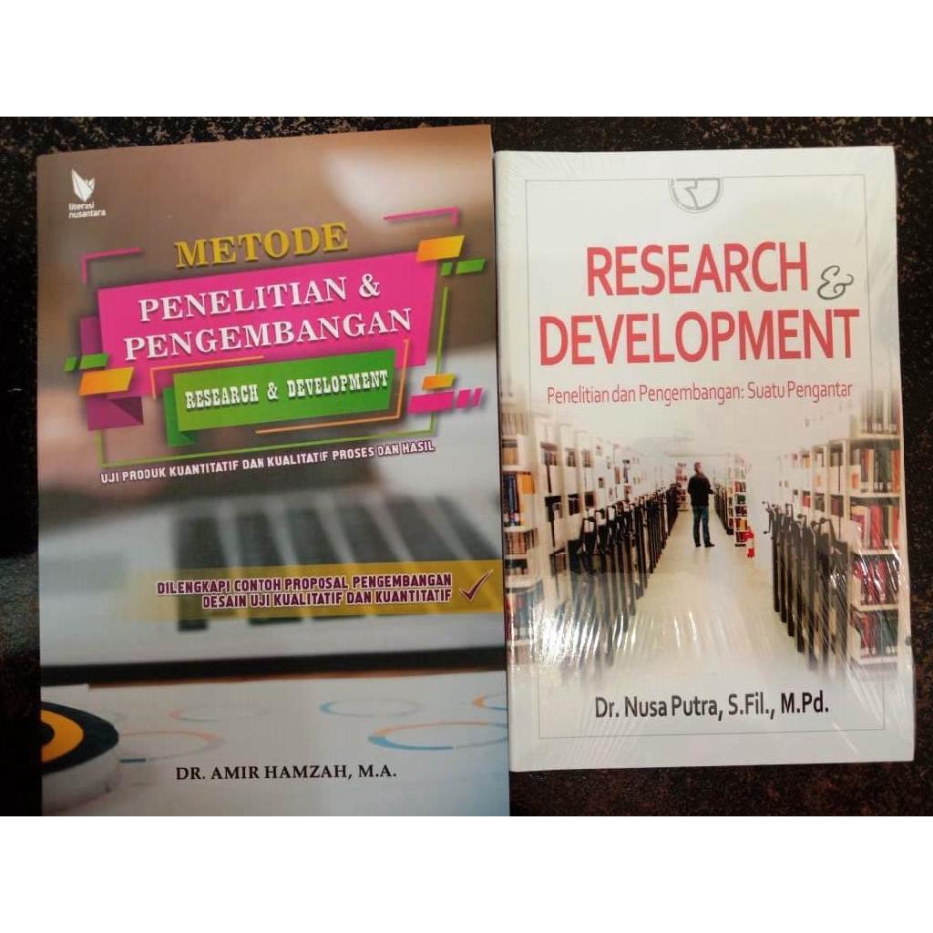Paket 2 Buku Penelitian Dan Pengembangan Research And Development R D Shopee Indonesia