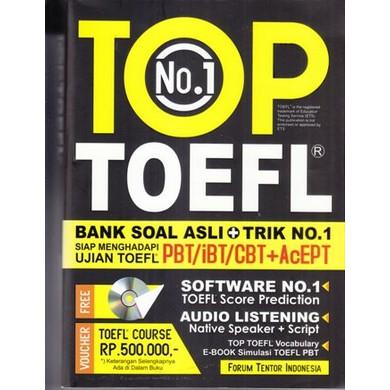 harga TOP NO.1 TOEFL Shopee.co.id