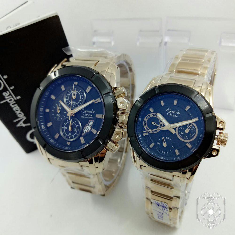 Toko Online Srituti259shop Shopee Indonesia Bonia Bnb10250 16422642 Jam Tangan Couple Siver Rosegold