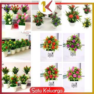 sk-c83-87 ornamen pot bonsai dekorasi rumah / meja