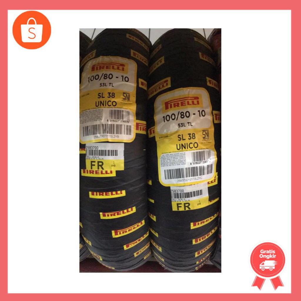 PIRELLI SL38 100/80-10 (BAN DEPAN VESPA ZIP) (BAN VESPA CLASSIC)