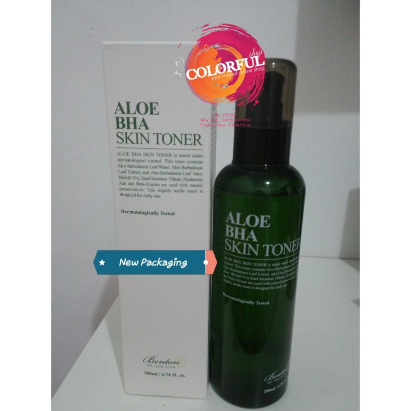 Benton Aloe BHA Skin Toner ORIGINAL [Share in Bottle 20 ml 30 ml]  