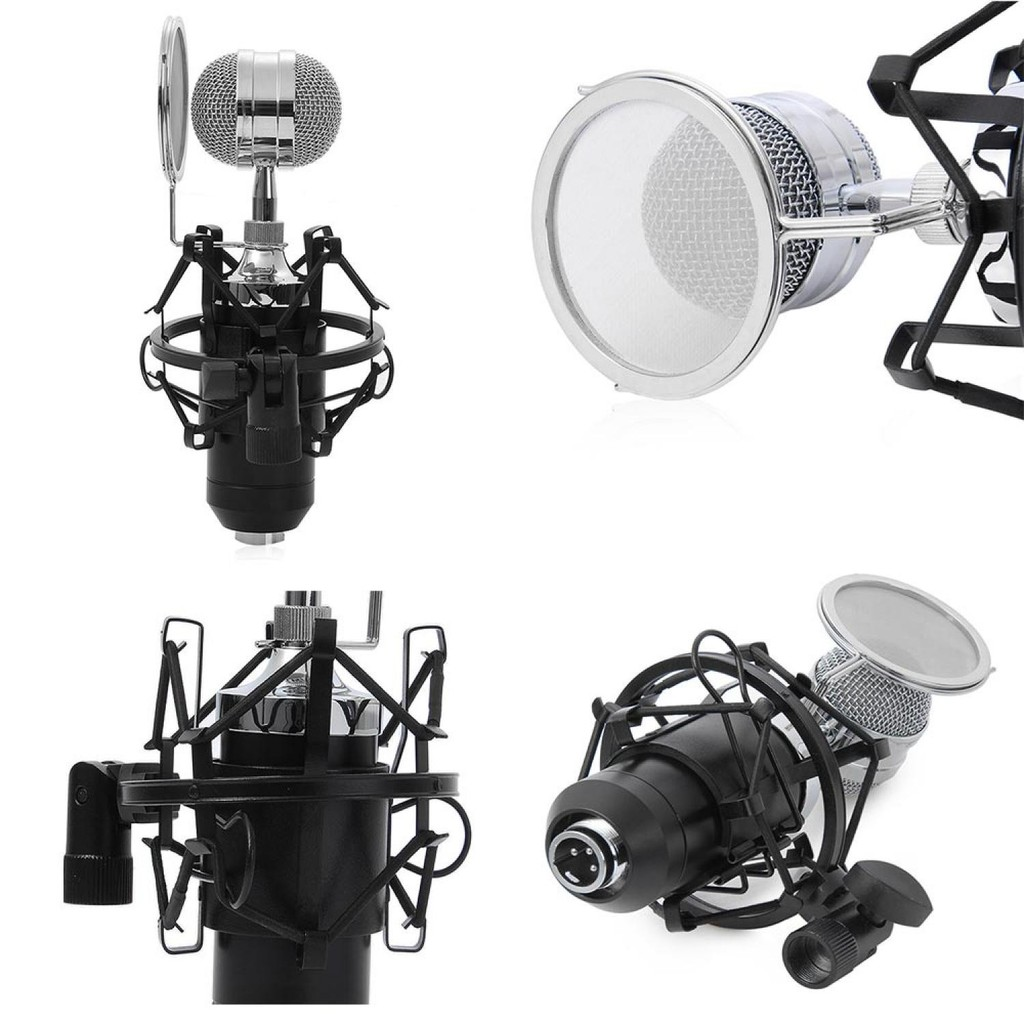 Pop Filter Mikrofon Dual Layer Windscreen Shopee Indonesia Ganda Bop