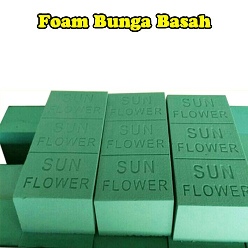 floral foam   oasis   oase   gabus bunga basah untuk media tanam ... 8ea7a8d69a