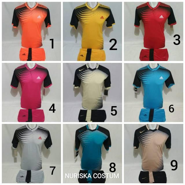 e5313966d Perbandingan harga Baju futsal baju voly setelan olahraga lowest ...