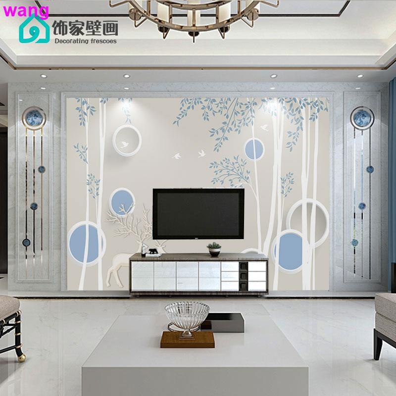 An Tiga Dimensi Stiker Modern Ruang Tamu Minimalis Dekorasi Wallpaper 3d Video Yang Meliputi Dinding Shopee Indonesia