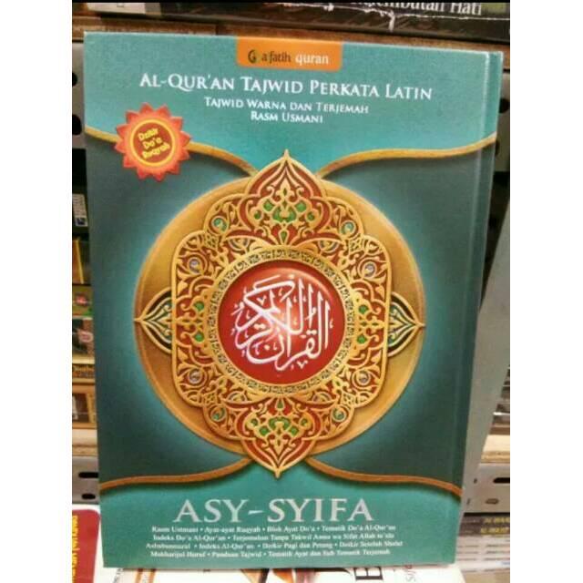 Al-Quran Tajwid Terjemah Perkata Latin Asy-Syifa .