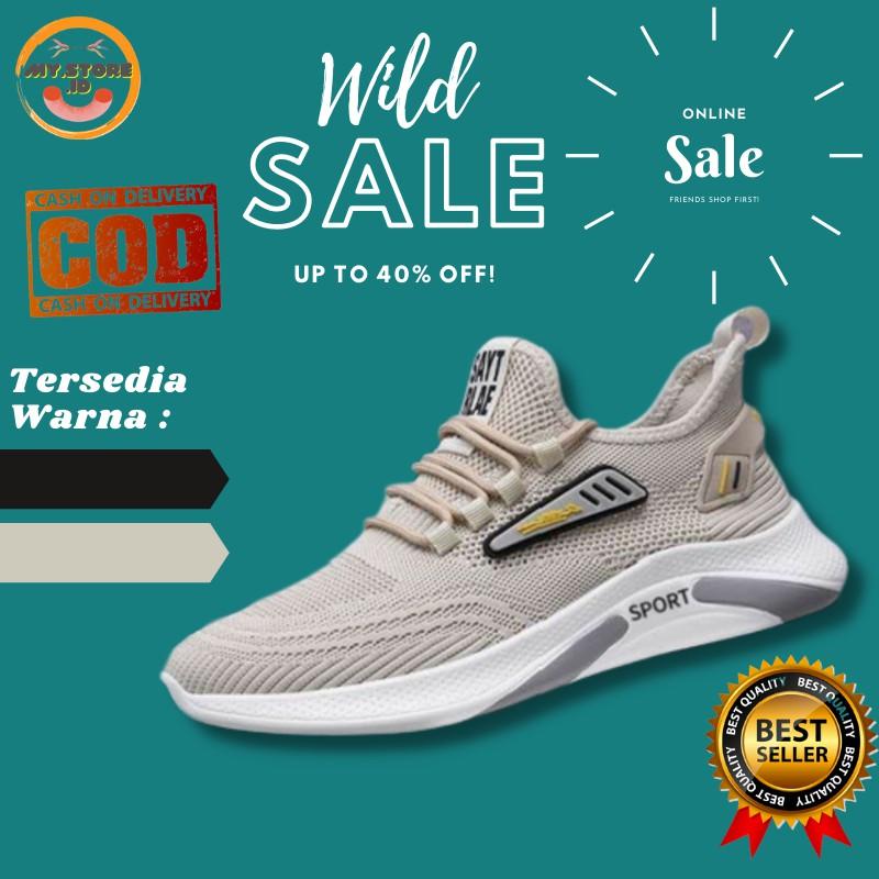 """Sepatu Pria Olahraga Sneakers Fashion 2021""""CZ 016""""Sepatu Running Pria Import"""