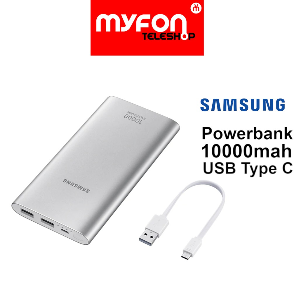 Powerbank Samsung 10000mah Dual USB Type C Fast Charge
