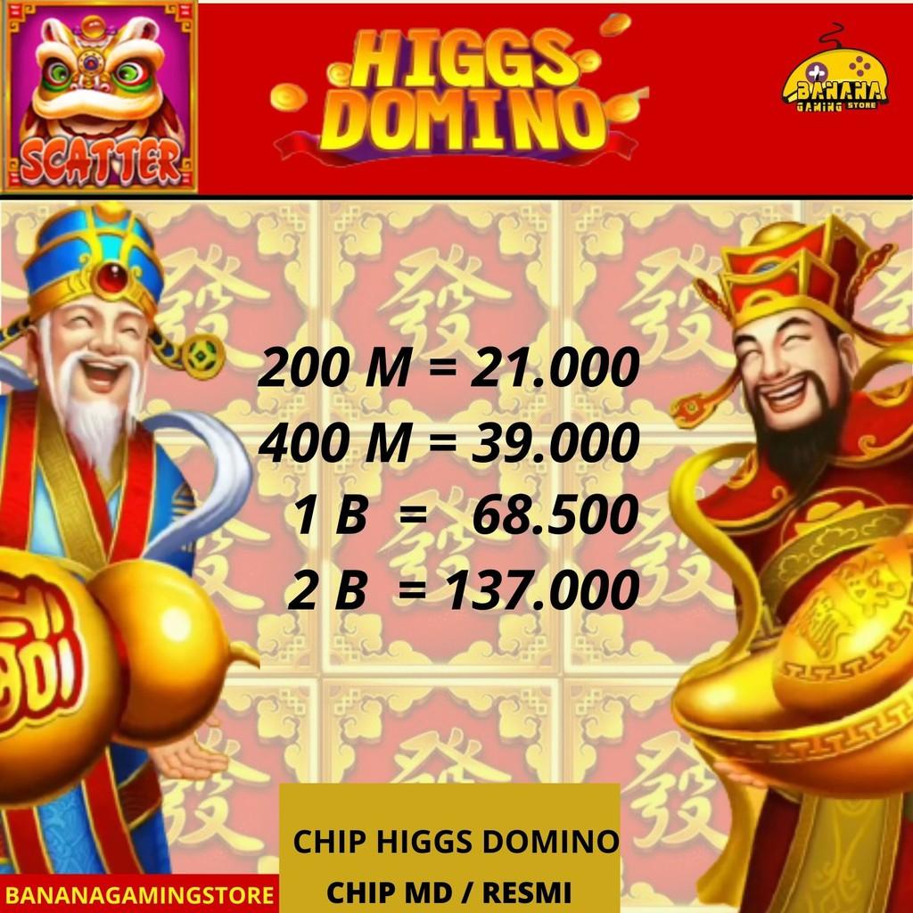 Chip Higgs Domino - Chip Domino 1B - Chip Domino Agen Resmi - Koin Domino Murah- Higgs Domino island