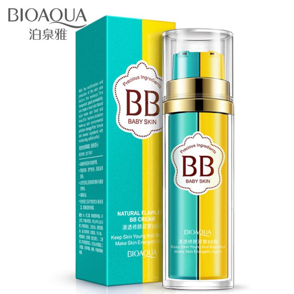 BIOAQUA 2 in 1 BB Cream Pelembab / Concealer Warna Nude   Shopee Indonesia