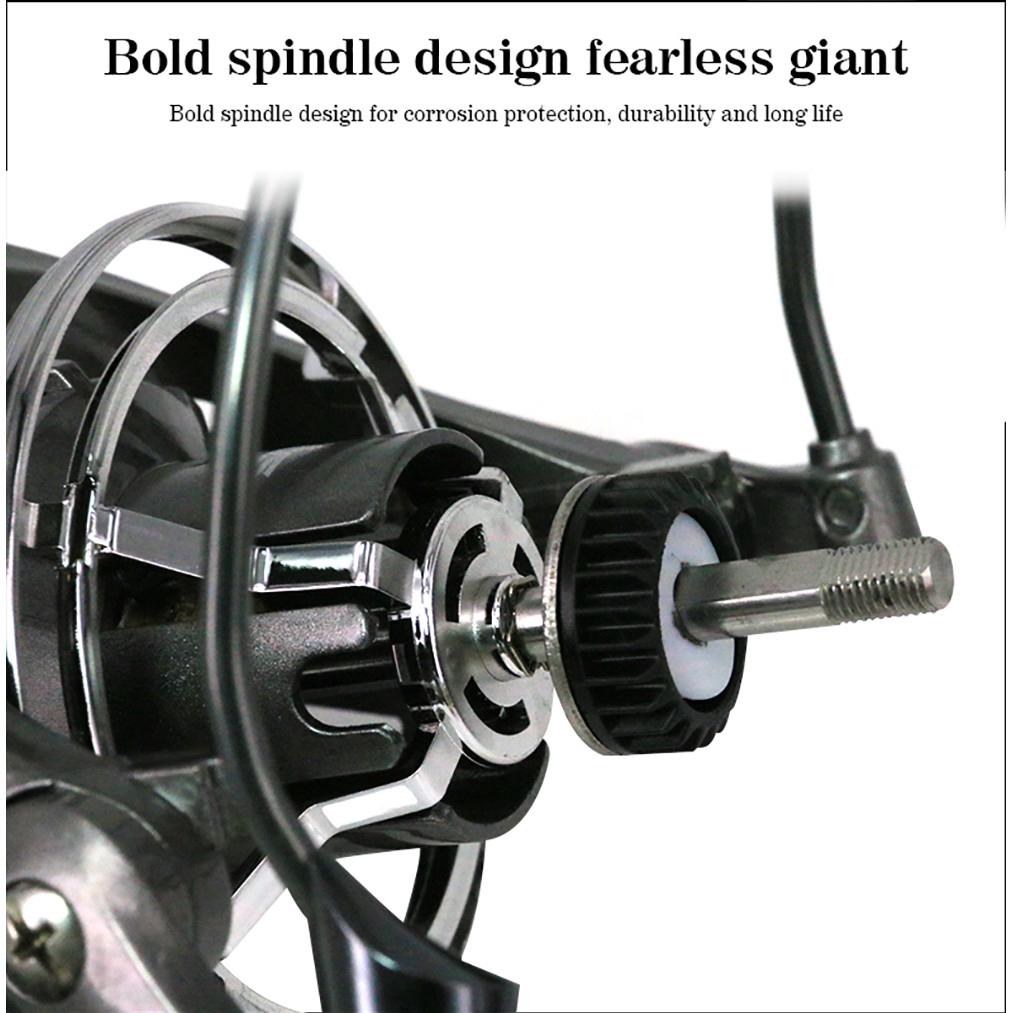 1BB CD Spin Kunststoff mit Metall Rocker Arm Rot Erduo Spinning Carbon Fiber Drag Ultra Light S/ü/ßwasser Angelrolle Reelsking 12