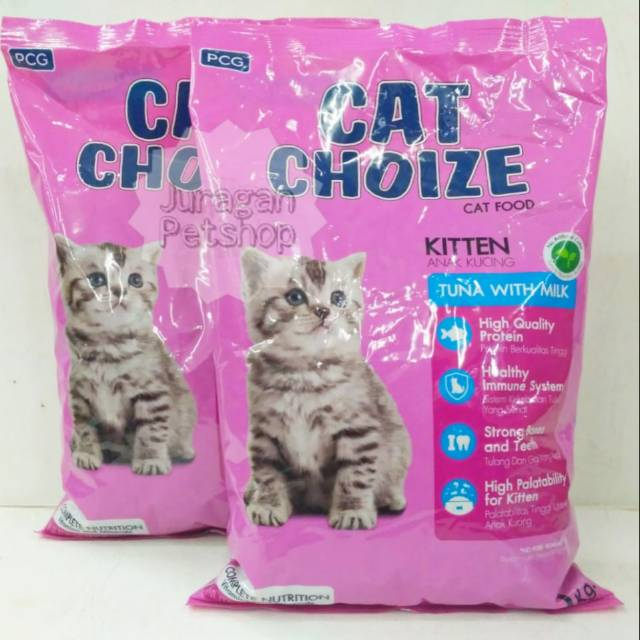 Cat Choize Kitten 1kg Original Repack Makanan Anak Kucing Kitten Cat Choize Kitten 1kg Shopee Indonesia
