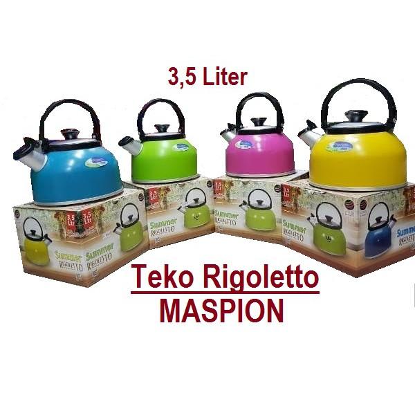 Teko pemasak air bunyi whistling siul 3 liter fleco kettle | Shopee Indonesia