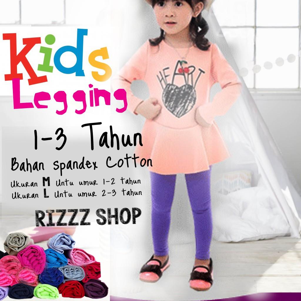 Celana Legging Panjang All Size Fit To L Shopee Indonesia Wanita Ukuran Aneka Warna