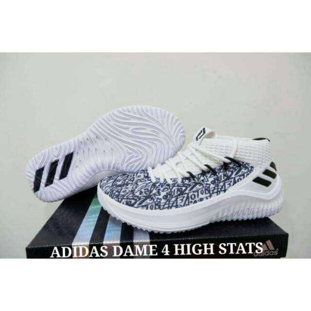 huge selection of 29f96 807ef Sepatu Basket Dame 4 High Stats  Shopee Indonesia