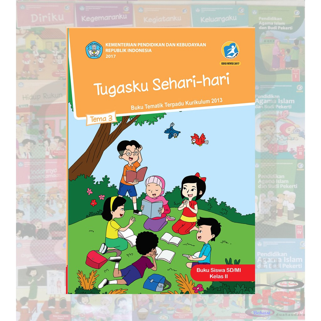 Buku Siswa Kelas 2 Sd Tema 3 Semester 1 Tematik Terpadu Kurikulum 2013 Revisi 2018 Ds Shopee Indonesia