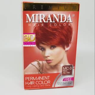 MIRANDA PERMANENT HAIR COLOR   CAT PEWARNA RAMBUT PERMANEN MC 16 ... fd77d1cb50