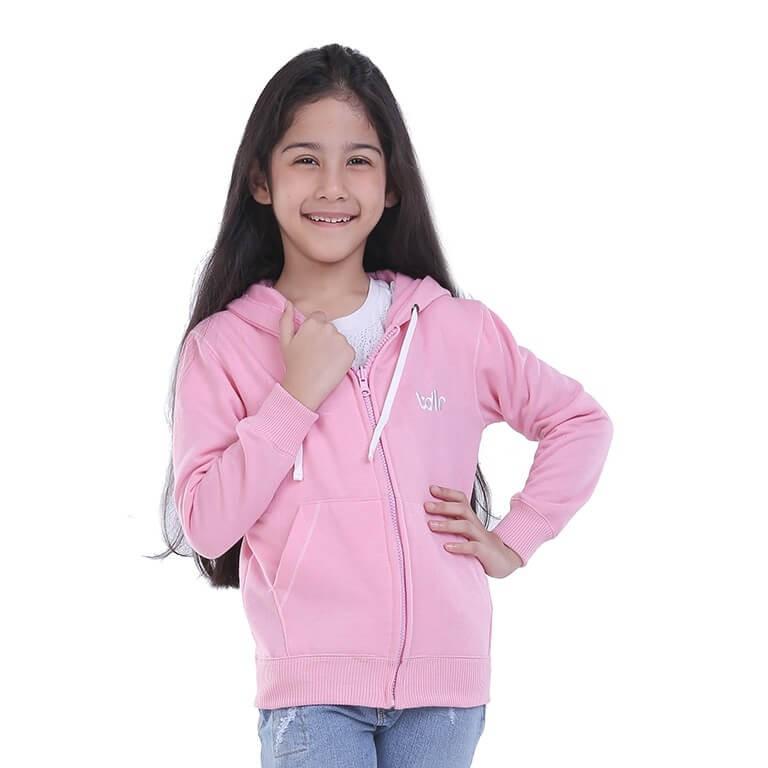 Jaket Kuping Kelinci Anak Perempuan Hoodie Outwear Girl Little Bunny Pink Resleting 2-4 Tahun Balita | Shopee Indonesia