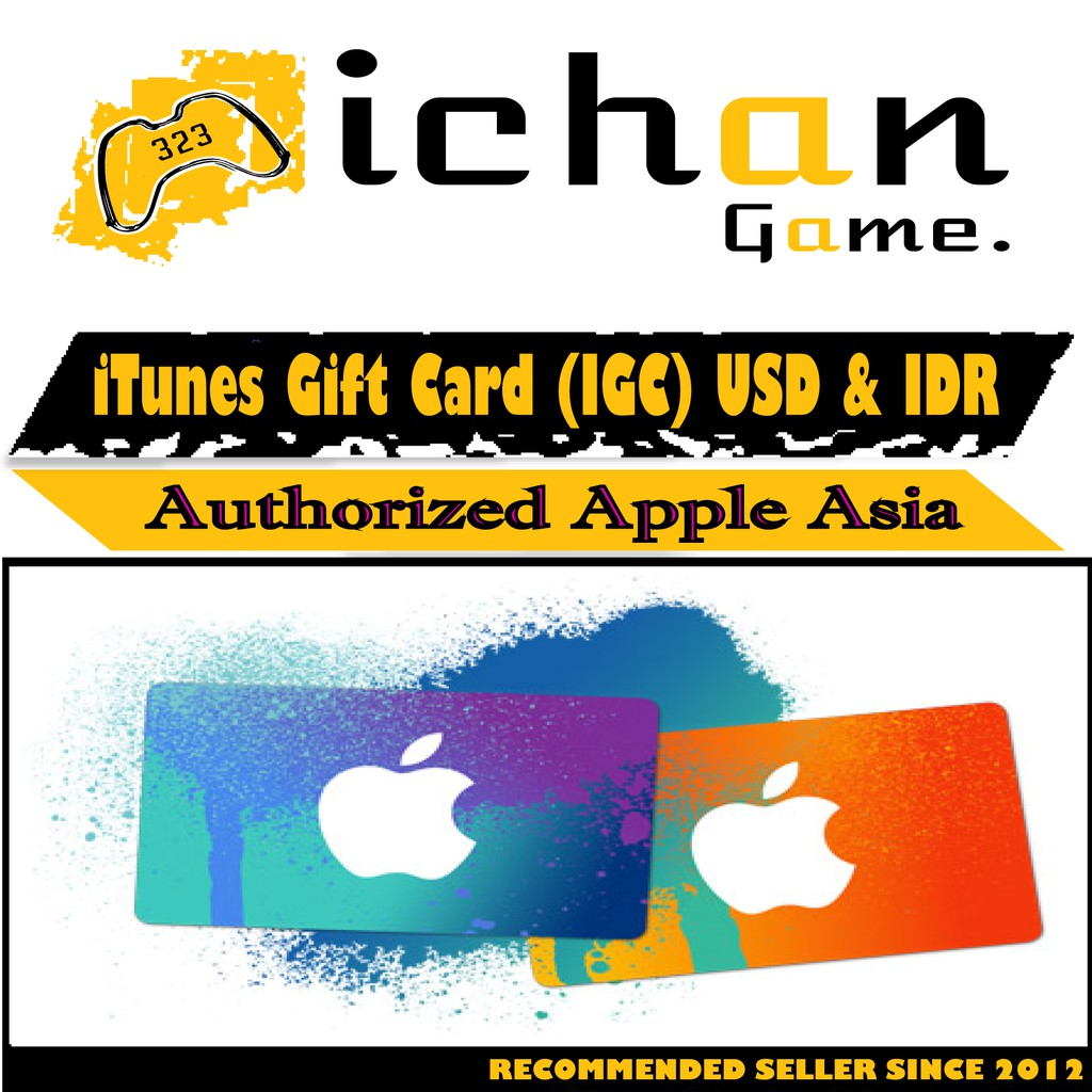 Itunes Gift Card Igc Apple Indonesia Shopee Rp 150000