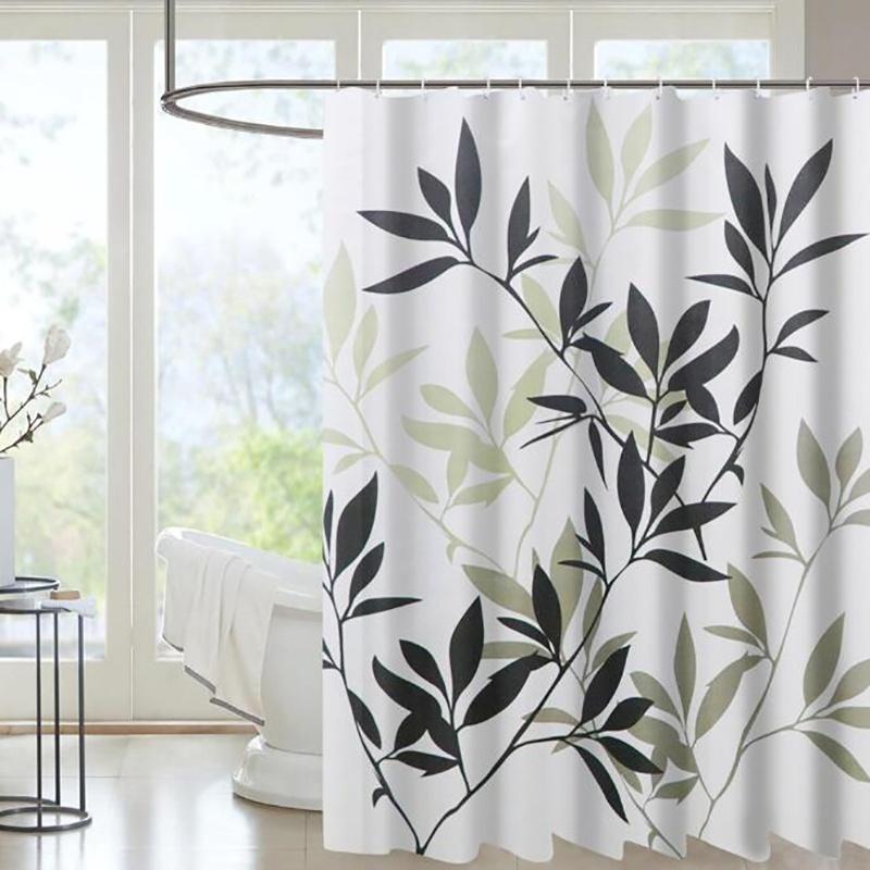Polyester Waterproof Decorative Shower