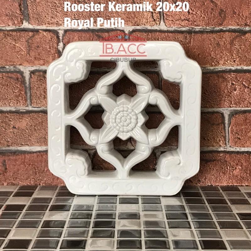 Roster / Lubang Angin Keramik Trisensa Royal