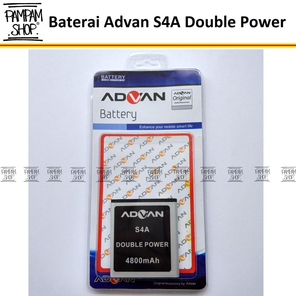 Baterai Handphone Advan S4A+ Original Double Power | Batre, Batrai, Battery, Advance, S4A +, HP | Shopee Indonesia