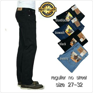 Celana Jeans Pria Levis Premium Standar Reguler size 28 S.d 36 Casual Formal | Shopee Indonesia