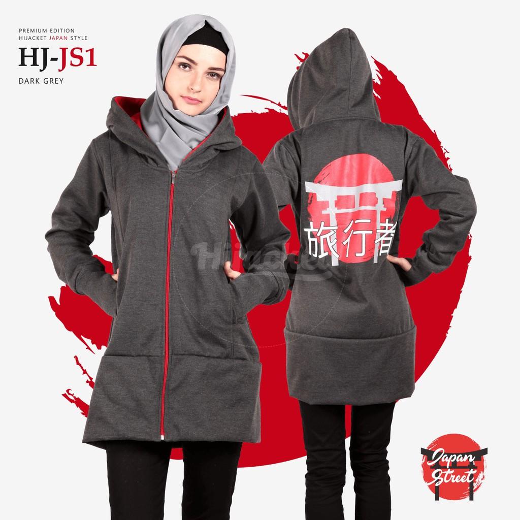 🌺 Hijacket Premium Qadira Ruby Blue Hj Qd Jaket Muslimah by Maungdistro  7b2d30c21f