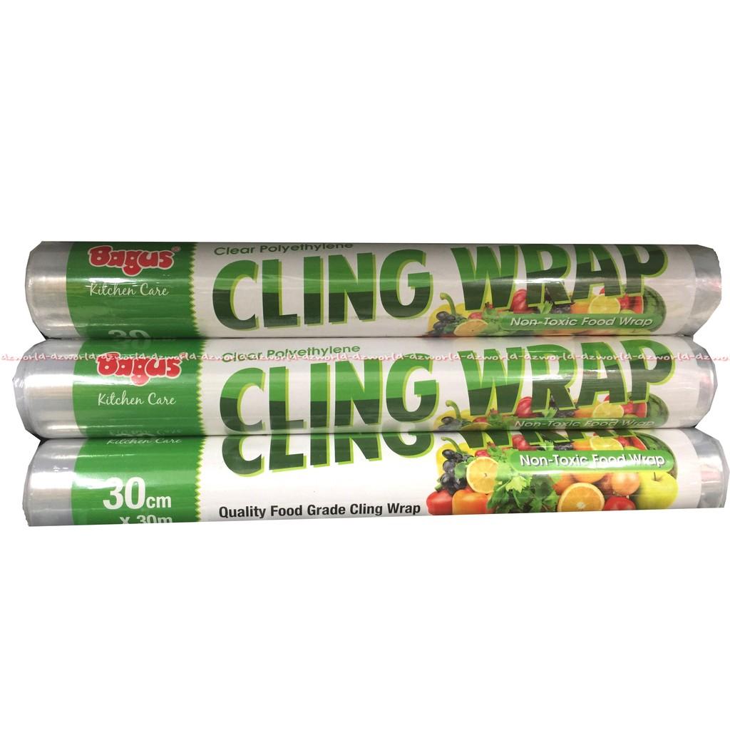 Plastik Bening Cling Wrap Wrapping Bagus 30mx30cm Refill 30 Cm X M Polyethylene Non Pvc Shopee Indonesia