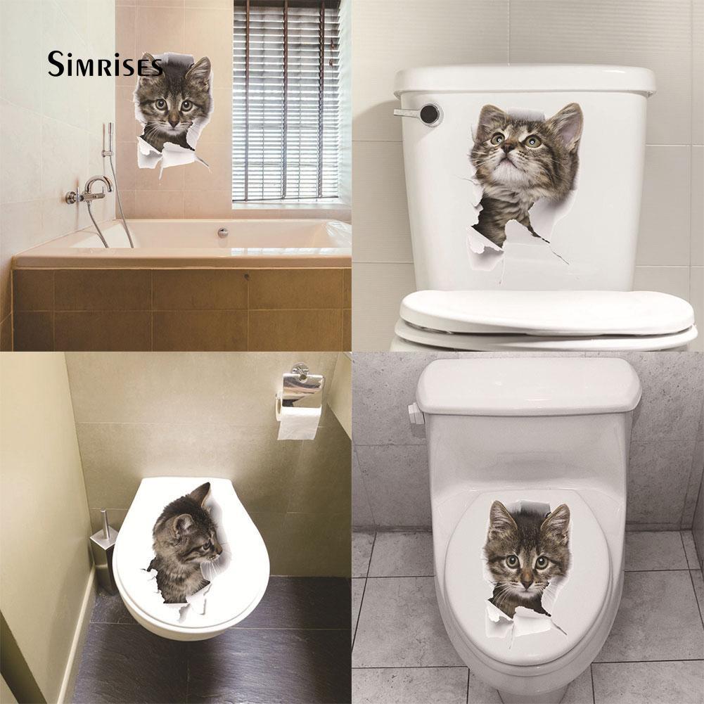 Luminous Stars Storm Pooper Toilet Cute Sticker Waterproof Bathroom Decal