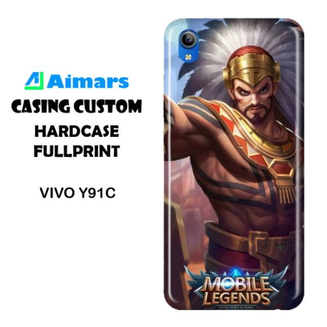Casing Vivo Y91c Custom Hard Case Mobile Legends Shopee Indonesia