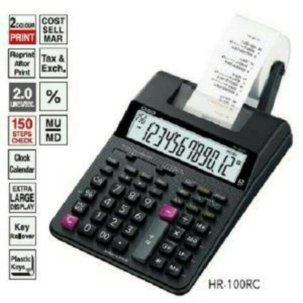 Unik Harga Hemat Casio Printing Calculator Hr 100rc Kalkulator Kasir Deli 240f Scientific 10 2 Digits E1710 Sains Print Berkualitas Shopee Indonesia