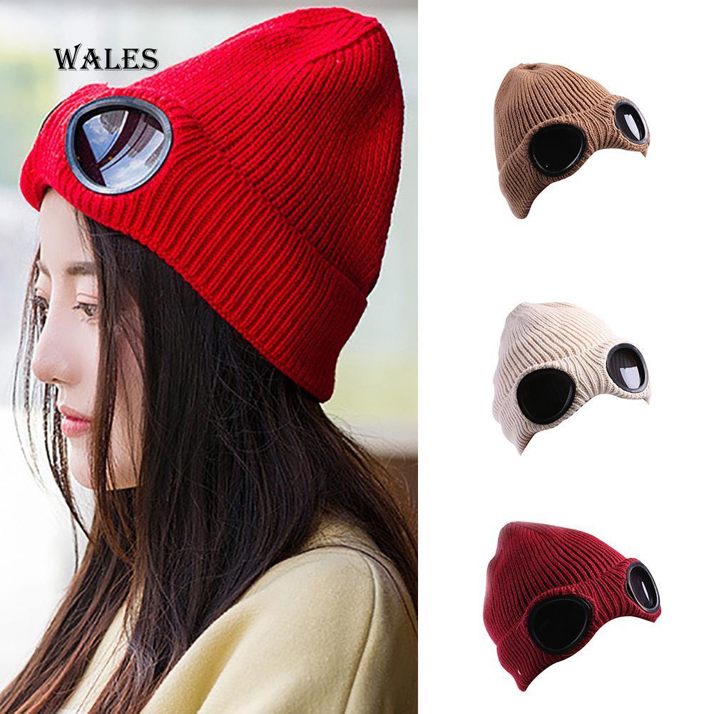 [Bayar di Tempat]Topi Kupluk Rajut Pom Pom Hangat untuk Musim Dingin / Hadiah