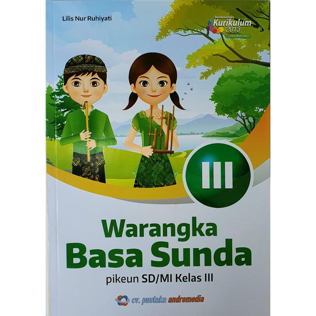 Buku Bahasa Sunda Kelas 3 Warangka Basa Sunda Sd Shopee Indonesia