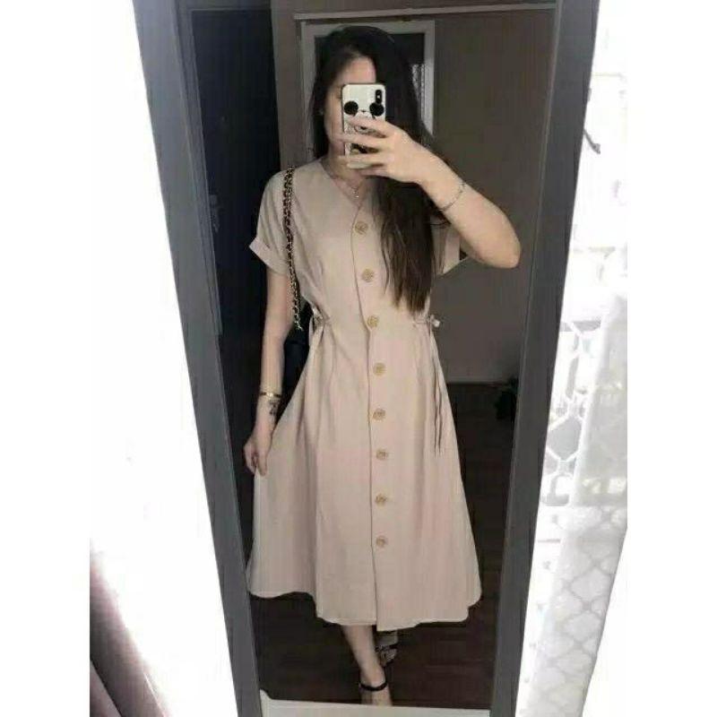 [FashionIn] TUNIK WANDA / dress wanita casual lengan pendek busui kerja kuliah gereja natal imlek