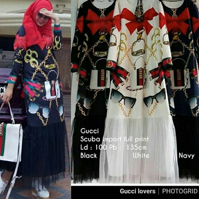 Gamis Duyung Chanel Shopee Indonesia