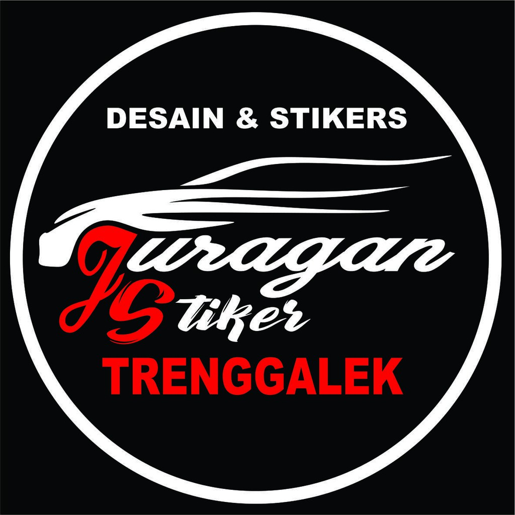 Striping costum cutting stiker racing speed untuk mobil universal shopee indonesia