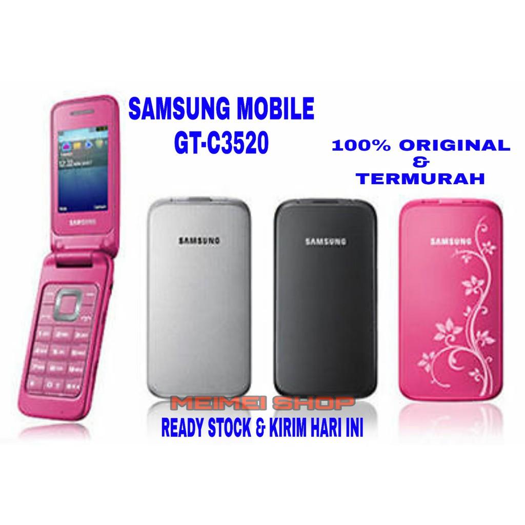 Samsung Lipat Gt C3520 Original Garansi Samsung Jadul Murah Hp Jadul Hp Murah Samsung Flip C3520 Shopee Indonesia