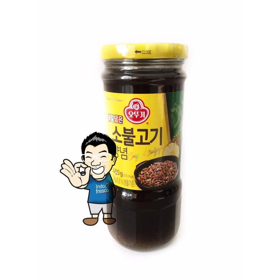Ottogi Sobulgogi Korean BBQ Sauce- Saus BBQ 480g