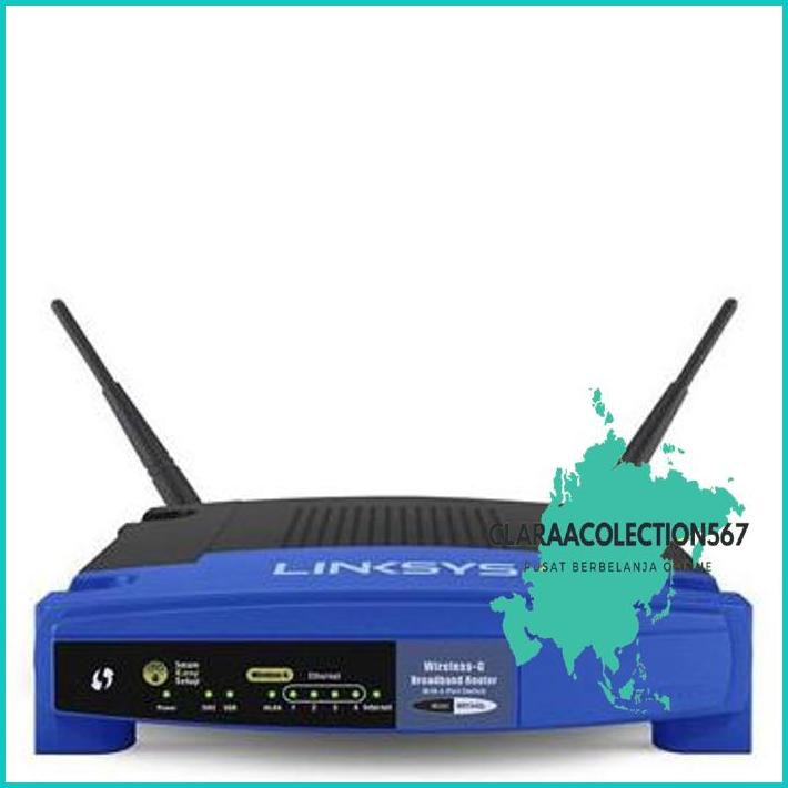 Wrt54Gl Linksys Wireless-G Router 54Mbps (Ddwrt-Support)