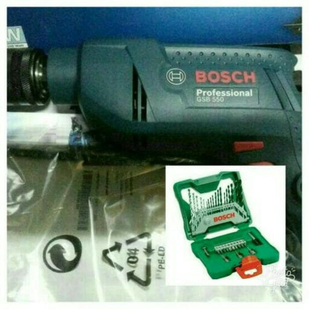 Bosch Bor Beton 16mm Gsb 16 Re Daftar Harga Terbaru Dan Mesin Hammer Tembok Unik Impact Drill Gsb16re 16re Murah