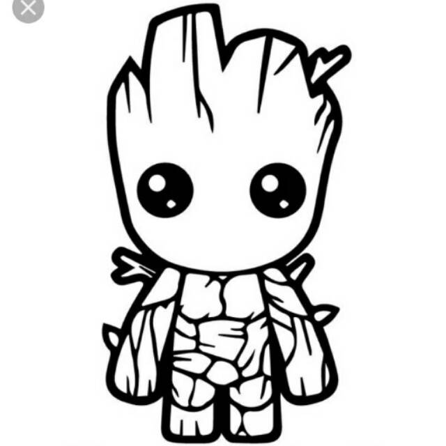 Sticker Groot Animasi Keren Shopee Indonesia