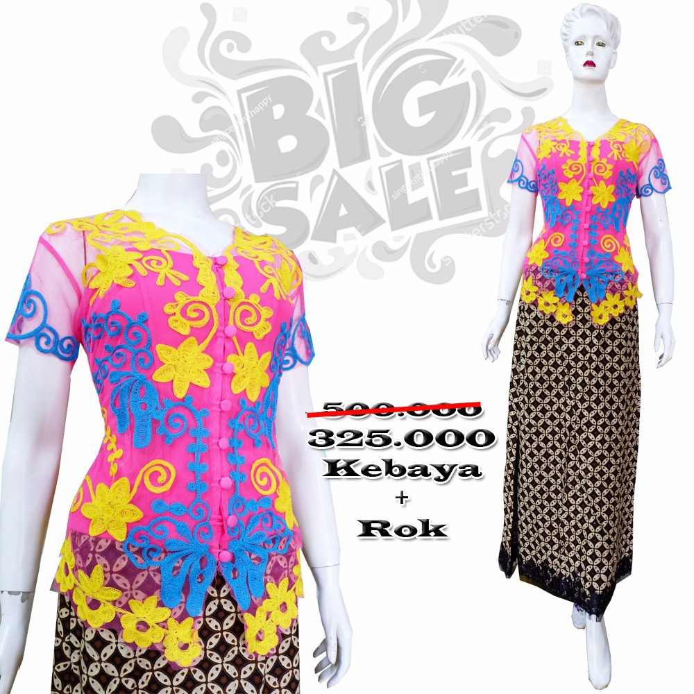 Toko Online Kebayadiva Shopee Indonesia Solo My Kebaya Dress Prada Biru