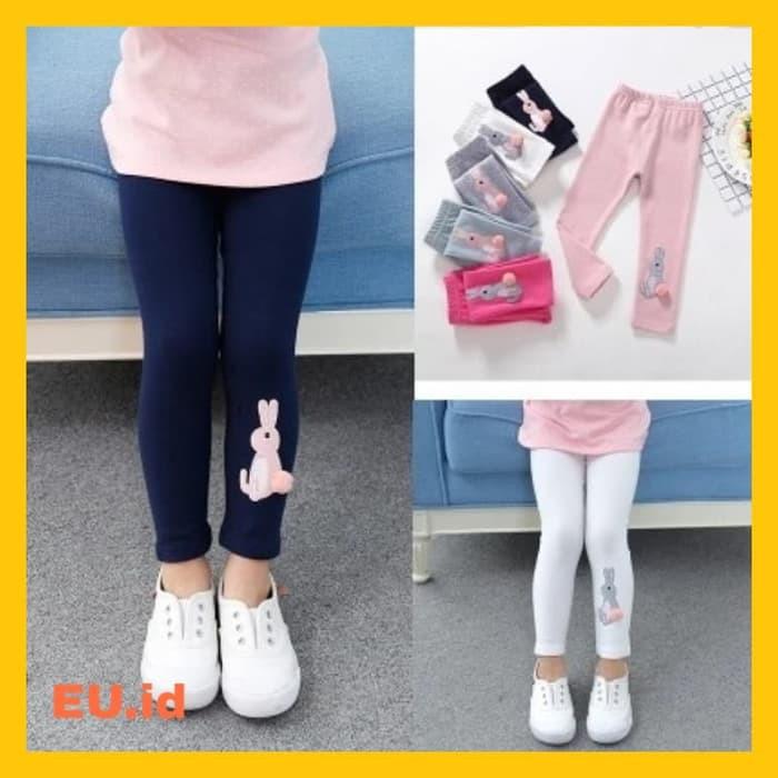 Celana Legging Anak Tebal Import Untuk Anak Perempuan 1 6 Tahun Size 100 Navy Blue Shopee Indonesia